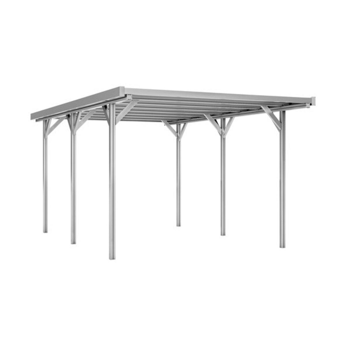Bild 2 von Aluminium Carport, 504 x 305 x 230 cm, natur