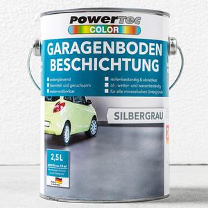 Powertec Color Garagenboden-Beschichtung 2,5 Liter