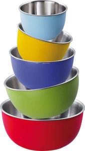 Schüssel-Set Colori, Kunststoff, Bunt, 5-teilig