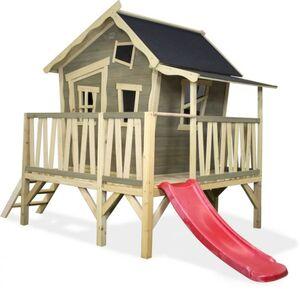 EXIT - Spielhaus Croocky 350 - graubeige