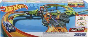 Hot Wheels - Rennbahn - Super-Mega Crash