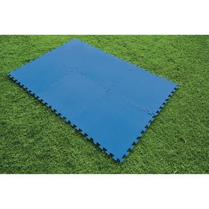 Pool-Bodenschutzfliesen 'Flowclear™' 50 x 50 cm, 9 Stück