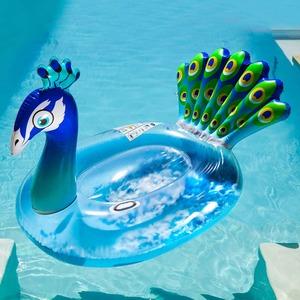 XXL-Schwimmring mit Federn im Inneren, ca. 145x94x94cm