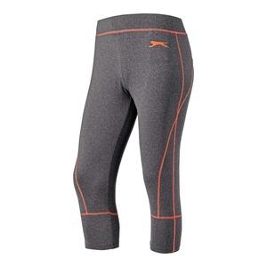 Damen-Fitnesshose mit sportlichen Kontraststreifen