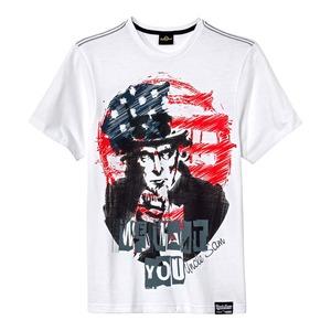 Herren-T-Shirt mit coolem Amerika-Motiv