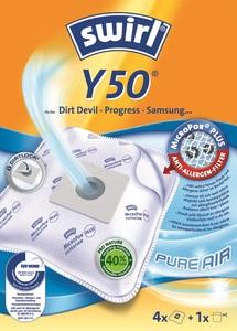 Swirl Staubsaugerbeutel Y50 MicroPor Plus Pure Air 4 Stück