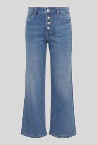 C&A THE WIDE JEANS-Bio-Baumwolle, Blau, Größe: 176