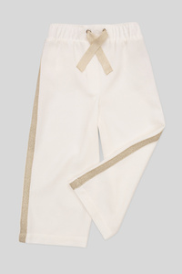 C&A Hose-Culotte-Glanz-Effekt, Weiß, Größe: 140