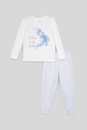 Bild 2 von C&A Die Eiskönigin-Pyjama-Bio-Baumwolle-2 teilig, Weiß, Größe: 92