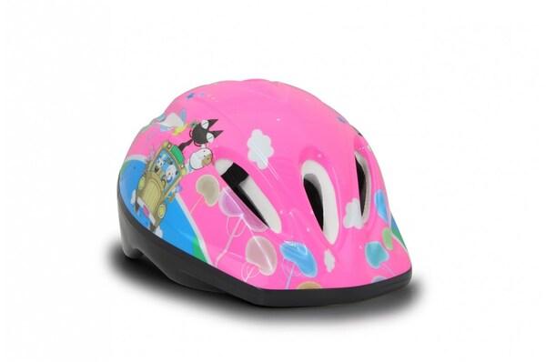 Kinder Fahrradhelm M pink