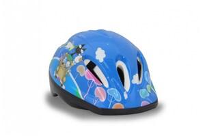 Kinder Fahrradhelm M blau