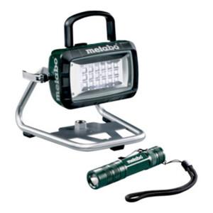 Metabo Set Akku-Baustrahler BSA 14.4-18 LED mit Taschenlampe