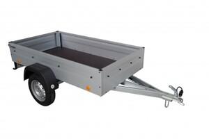 TPV PKW-Anhänger EU2, 750 kg ungebremst, Kasteninnenmaße 202 x 107,5 x 34,5 cm (L x B x H)