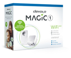 DEVOLO Magic 1 WiFi mini Starter Kit Powerline (1200 Mbit/s)