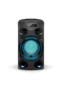 Sony One Box Soundsystem MHCV02 (High Power Party Lautsprecher, One Box Hifi Music System, Bluetooth, NFC, Mikrofonanschluss, CD, USB)