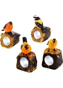 Solar Deko Vögel (4-tlg.Set)