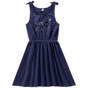 Mädchen Kleid mit Pailletten