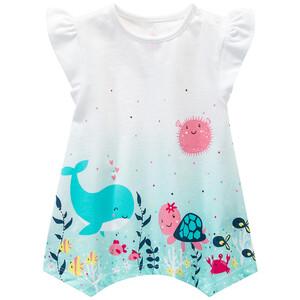 Baby T-Shirt mit tierischem Print