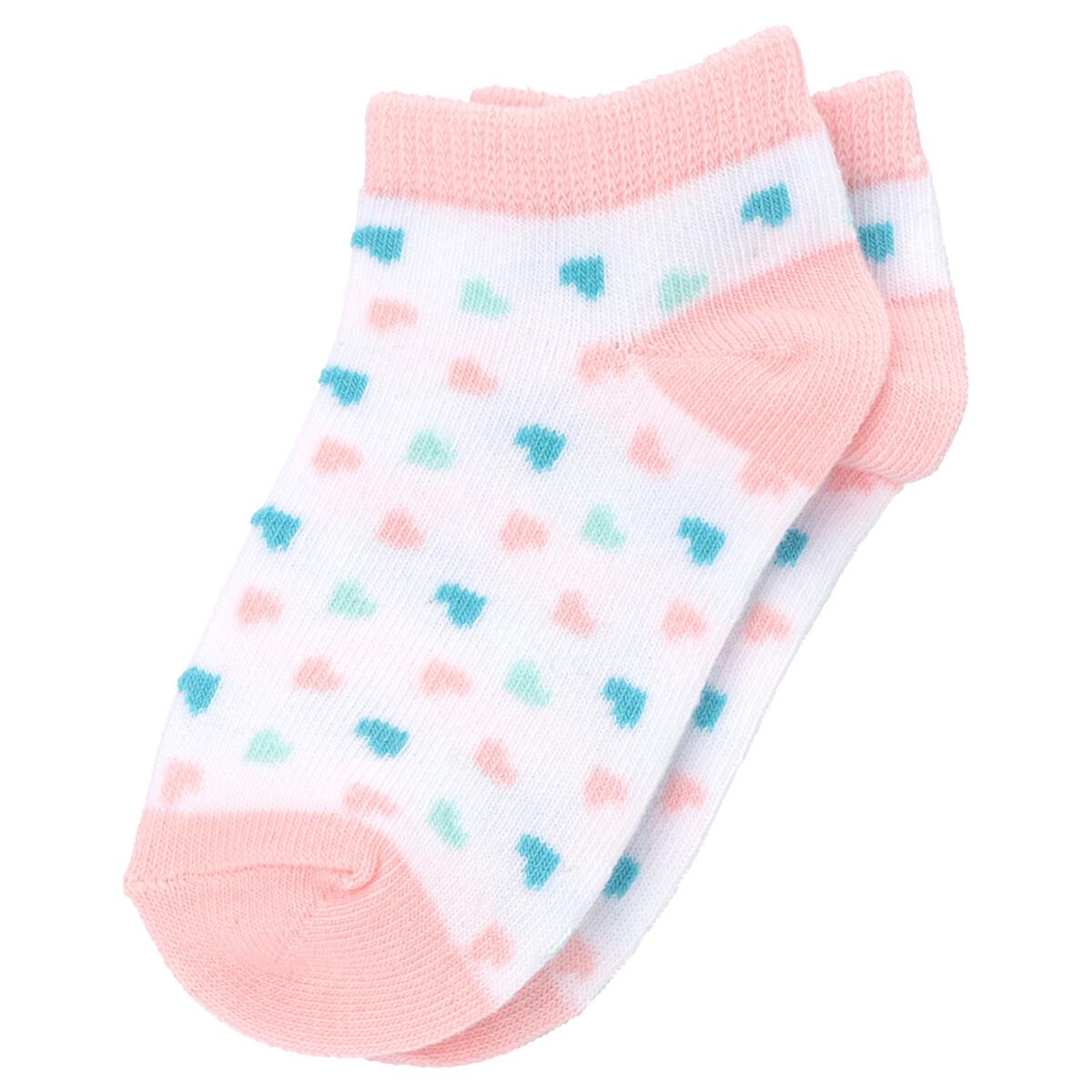 Bild 4 von 3 Paar Baby Sneaker-Socken im Set
