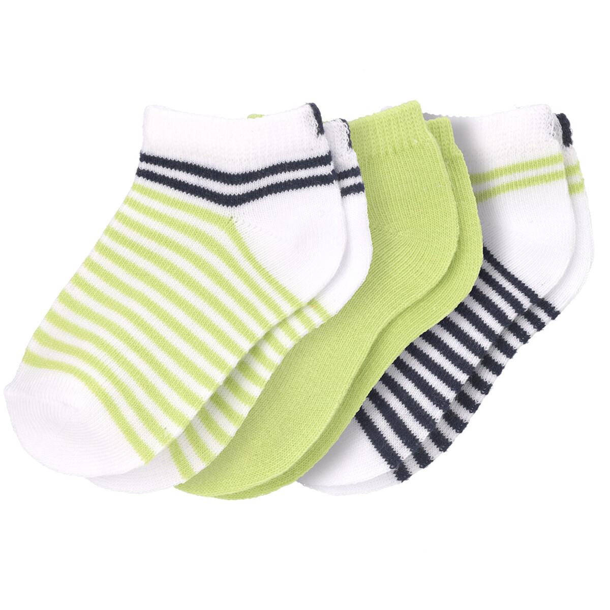 Bild 1 von 3 Paar Baby Sneaker-Socken im Set
