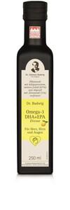 Dr. Budwig  Omega-3 DHA+EPA Zitrone 250 ml