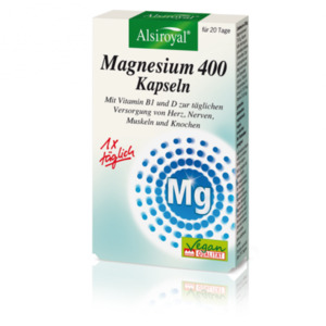 Alsiroyal  Magnesium 400 Kapseln