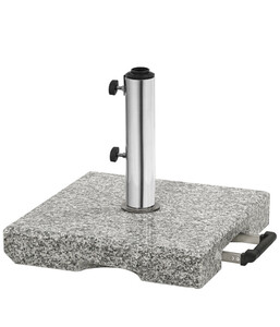 Dehner Granit-Schirmständer eckig