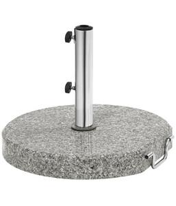 Dehner Granit-Schirmständer rund, 30 kg