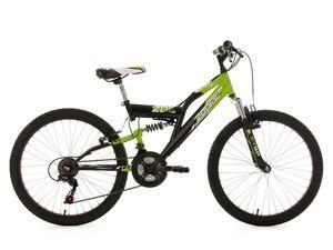 KS Cycling Kinderfahrrad MTB Fully 24 Zodiac RH 38 cm