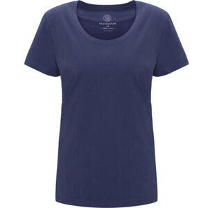 MANGUUN T-Shirt, Basic, U-Ausschnitt, für Damen