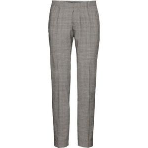 MANGUUN Collection Anzughose, Glencheck, Body Fit, Baukasten, für Herren
