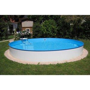 Summer Fun Stahlwand Pool Einbau-und Aufstellbecken Ø 350 cm x 150 cm