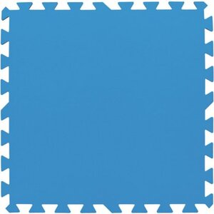 Flowclear Pool-Bodenschutzfliesen-Set, 9 Stück á 50 x 50 cm, blau