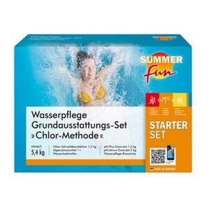 Summer Fun Wasserpflege Grundausstattungs-Set Chlor Maxipack 5,4 kg