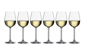 Bohemia - Weißweinglas 340 ml Life, 6-teilig