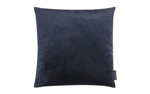 Magma - Kissenhülle Samt uni dunkelblau, 40 x 40 cm