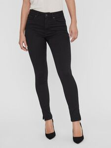 VMSOPHIA HIGH WAIST ANKLE ZIP SKINNY FIT JEANS