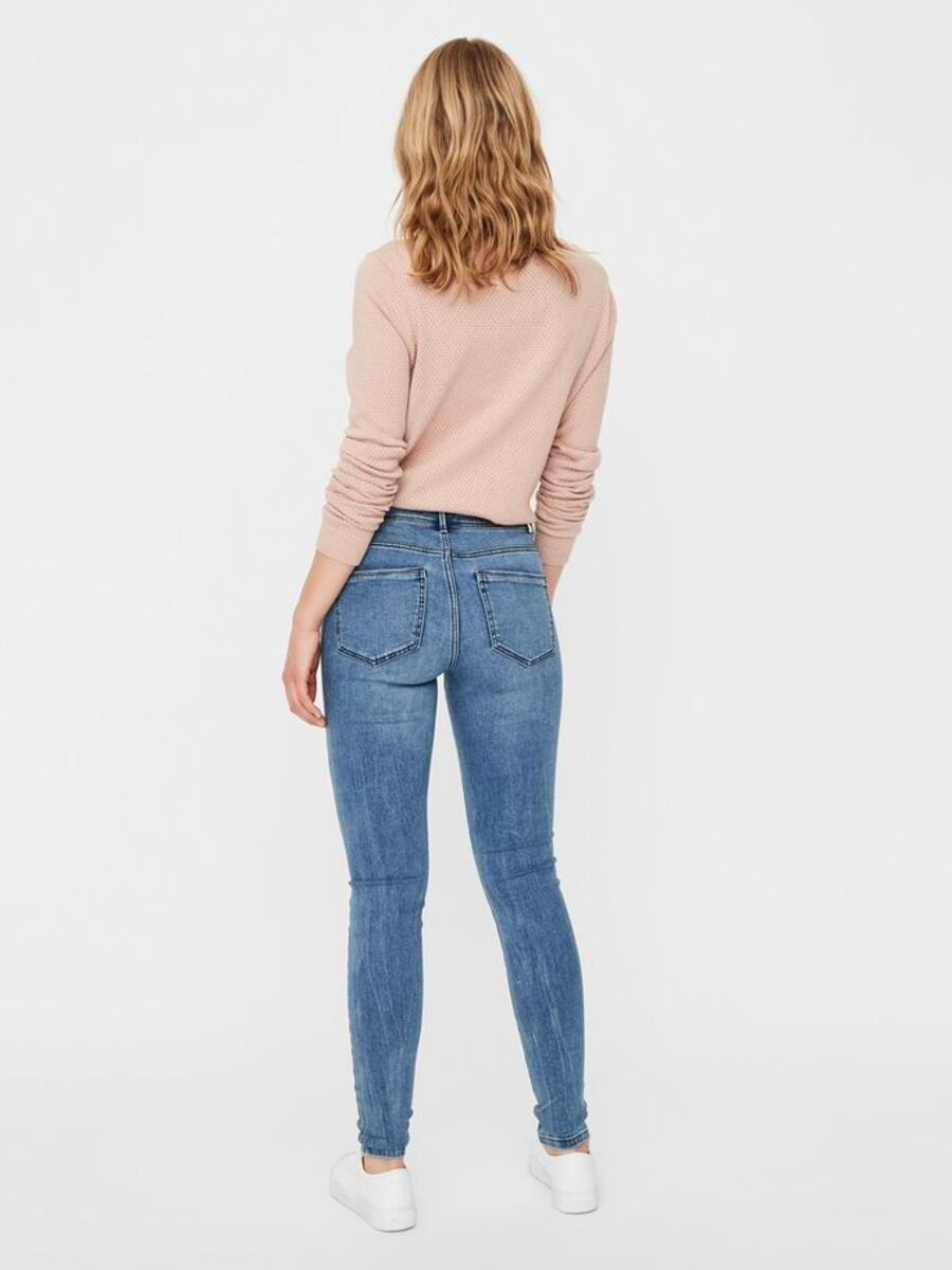 Bild 2 von VMSEVEN NORMAL WAIST SLIM FIT JEANS