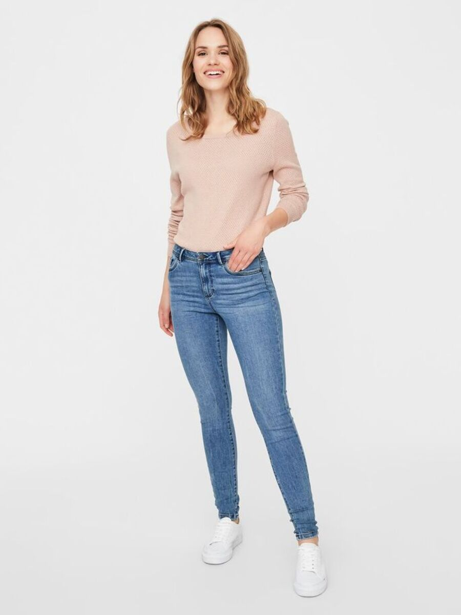 Bild 3 von VMSEVEN NORMAL WAIST SLIM FIT JEANS