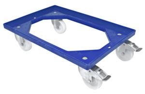 METRO Professional Rollwagen für Eurobehälter Blau 61 x 41 x 16,1 cm