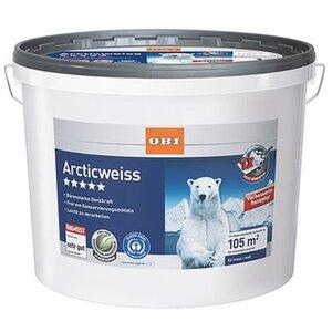 OBI Wandfarbe Arcticweiß matt 15 l