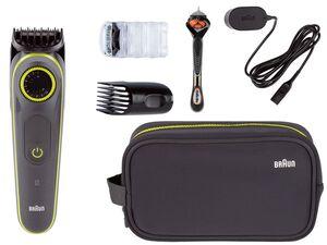 BRAUN Kulturtasche mit »Gilette Fusion 5 ProGlide« Geschenkset, inklusive Rasierer