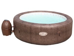 Bestway Lay-Z-Spa™ Whirlpool »St.Moritz AirJet«, Abdeckung, Heizfunktion, Massagefunktion