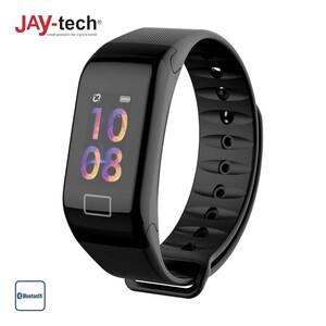 Fitness Tracker BT35G · Farbdisplay · Schrittzähler, Kalorienverbrauch · Schlafüberwachung, Herzfrequenzmessung · Push-Nachrichten · Spritzwassergeschützt