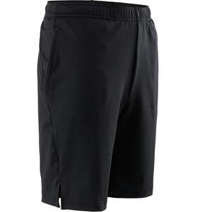 Shorts kurz Synthetik atmungsaktiv S500 Gym Kinder schwarz