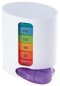 IDEENWELT Tablettenbox für 7 Tage