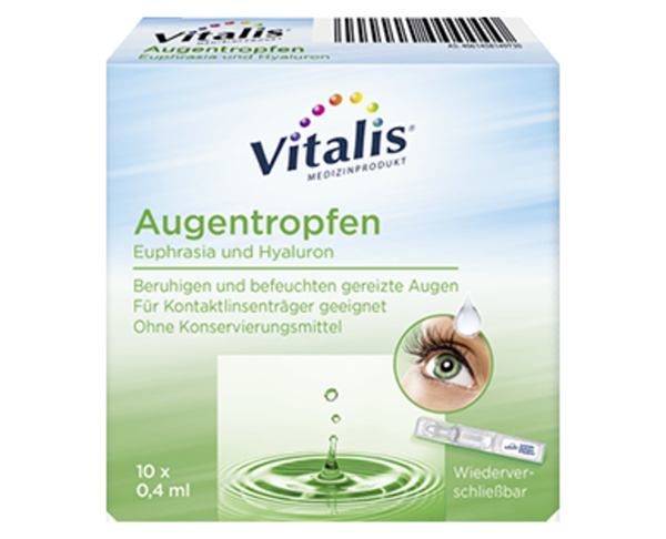 Vitalis®  Augentropfen