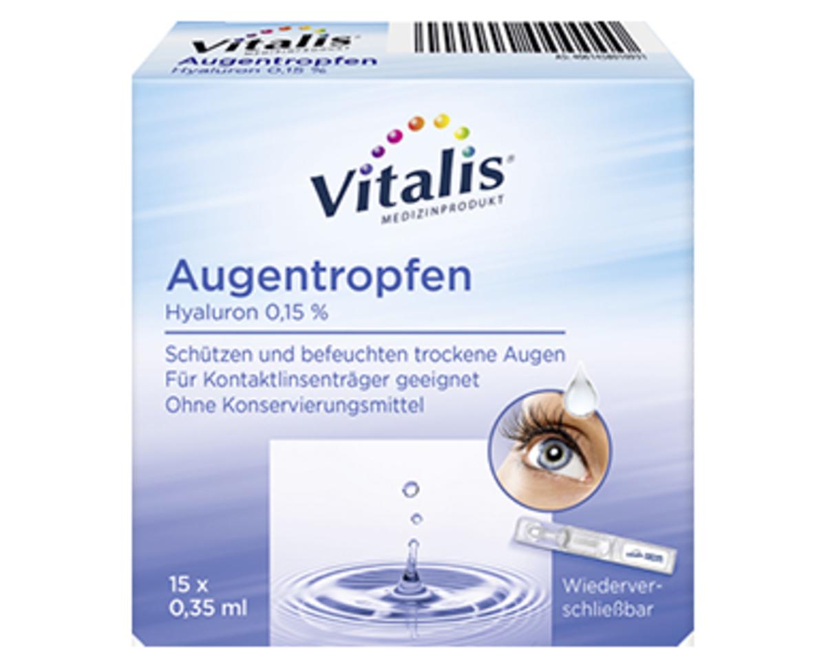 Bild 2 von Vitalis®  Augentropfen