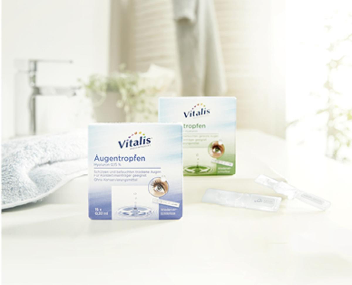Bild 3 von Vitalis®  Augentropfen