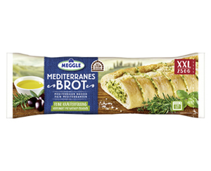 MEGGLE Mediterranes Brot oder Barbecue Chili Brot